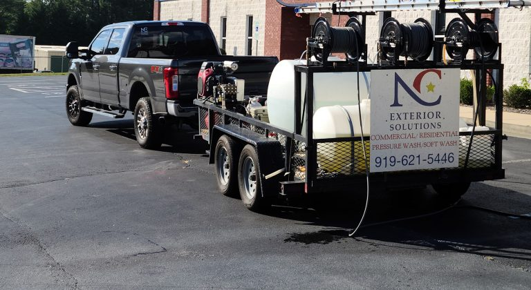 NC exterior solutions truck and trailer